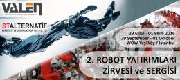 Robot Yatırımları Fuarı